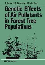 Genetic Effects of Air Pollutants in Forest Tree Populations