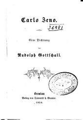 Carlo Zeno: Ein Dichtung