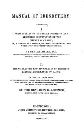 Manual of Presbytery