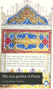 The Rose Garden of Persia