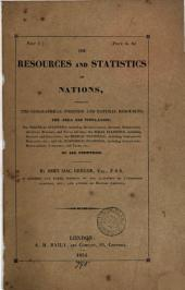 The resources and statistics of nations
