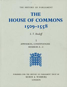 The House of Commons  1509 1558 PDF