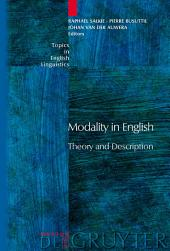 Modality in English: Theory and Description