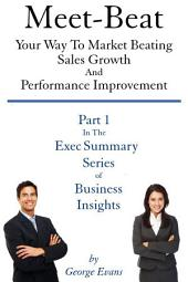 Meet-Beat Your Way To Market Beating Sales Growth And Performance Improvement