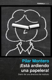 ¡Está ardiendo una papelera!: Diario de una directora de instituto