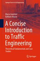 A Concise Introduction to Traffic Engineering PDF