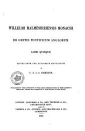 Rerum Britannicarum Medii Ævi Scriptores, Or, Chronicles and Memorials of Great Britain and Ireland During the Middle Ages: Volume 52