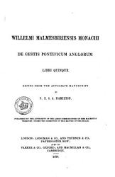Rerum Britannicarum Medii Vi Scriptores Or Chronicles And Memorials Of Great Britain And Ireland During The Middle Ages Book PDF