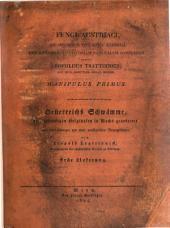 Fungi Austriaci ad specimina viva cera expressi, descriptiones ac historiam naturalem completam addidit L. Trattinnick, etc. (Oesterreichs Schwämme, etc.) Lat. and Germ. Liefer. 1-3