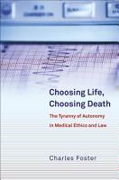 Choosing Life  Choosing Death PDF