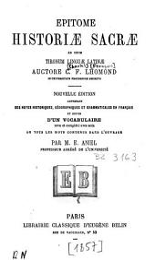 Epitome historiae sacrae: ad usum Tironum linguae latinae