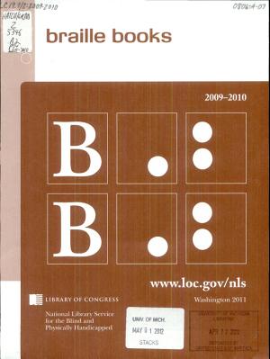 Braille Books PDF