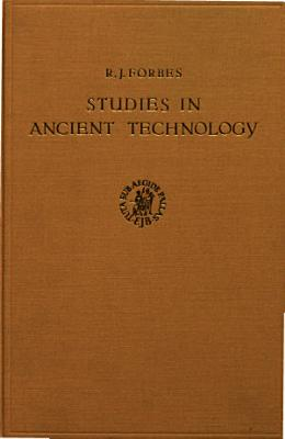 studies in ancient technology PDF