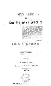 Conflicto y armonias de la razas en América ...