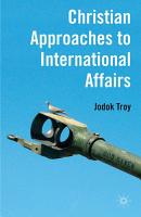 Christian Approaches to International Affairs PDF