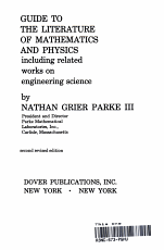 guide to the literature of mathematics and physics  PDF