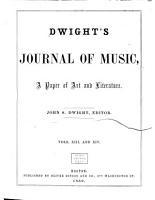 Dwight s Journal of Music PDF