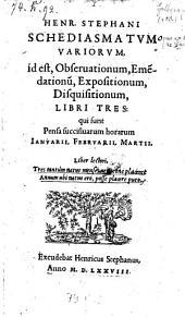 Qui sunt Pensa succisiuarum horarum Ianuarii, Februarii, Martii (etc.): 1