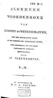 Algemeen woordenboek van kunsten en wetenschappen: voor den beschaafden stand en ten behoeve des gezelligen levens, Volume 4