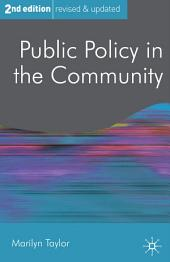 Public Policy in the Community: Edition 2