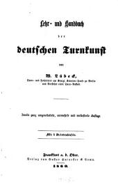 Lehr- und Handbuch der deutschen Turnkunst: Mit 6 Steindrucktafeln
