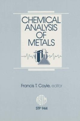 Chemical Analysis of Metals PDF