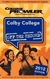 Colby College 2012