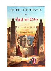 Notes of Travel in Egypt and Nubia