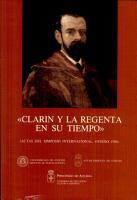Clar  n y La regenta en su tiempo PDF