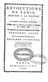 Révolutions de Paris: dédiées à la nation et au district des Petits-Augustins, Numéros103à117