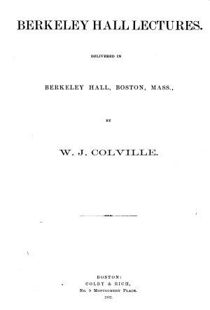 Berkeley Hall Lectures