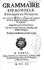 Grammaire espagnolle, expliquée en françois