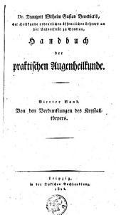 Handbuch der praktischen Augenheilkunde: Band 4