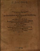 Cornelii Nepotis Thrasybulus Seu Meditatio Historico-Politica, Potissimum De Amnestia