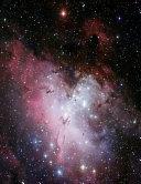 Eagle Nebula Star Cluster Constellation Notebook