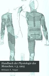 Handbuch der Physiologie des Menschen: Band 3