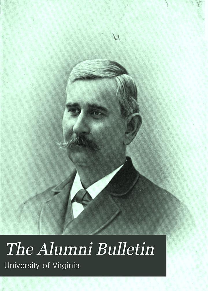 The Alumni Bulletin