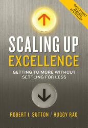 Scaling Up Excellence Book PDF