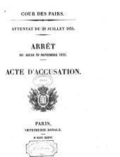 Attentat du 28 juillet 1835: Volume4
