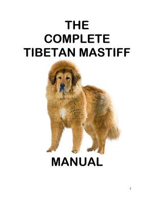 The Complete Guide to Tibetan Mastiff