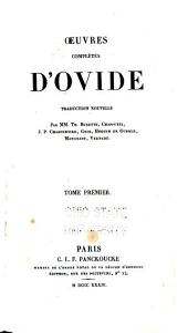 Œuvres complètes d'Ovide: Volume1
