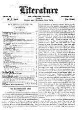 Literature: Issues 12-37
