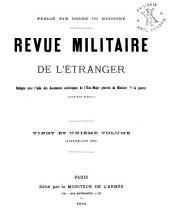 Revue militarie de l'étranger: Volume21