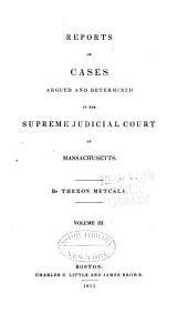 Reports of Cases Argued and Determined in the Supreme Judicial Court of the Commonwealth of Massachusetts: Volume 44