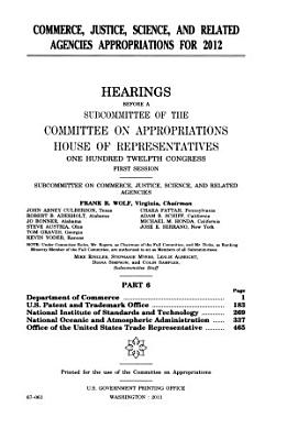 Commerce  Justice  Science  and Related Agencies Appropriations for 2008 PDF