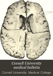 Cornell University Medical Bulletin: Volume 5, Issue 1