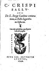 De Catilinae coniuratione ... historia ...