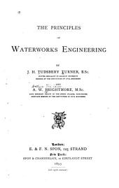 The Principles of Waterworks Engineering