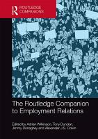 The Routledge Companion to Employment Relations PDF
