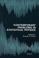Contemporary Problems in Statistical Physics PDF